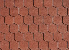 Фото IKO Superglass-Biber Tile Red